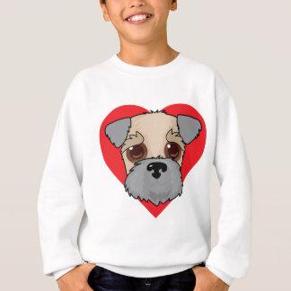 Wheaten Terrier Face Sweatshirt