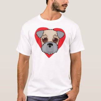 Wheaten Terrier Face T-Shirt