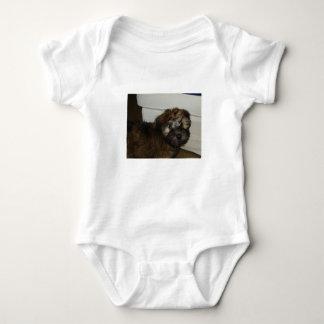 Wheaten_terrier puppy baby bodysuit