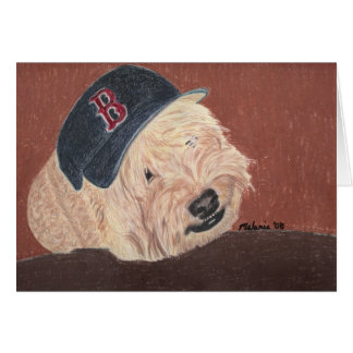 Wheaten Terrier - Wheatie Card