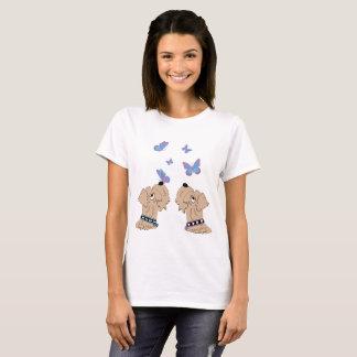 Wheatens and Butterflies T-Shirt
