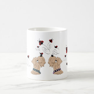 Wheatens and Ladybirds Coffee Mug