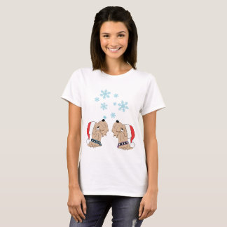 Wheatens and Snowflakes T-Shirt