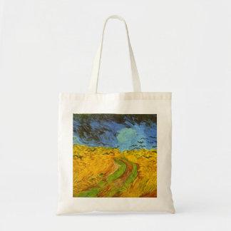 Wheatfield by Vincent van Gogh Tote Bag