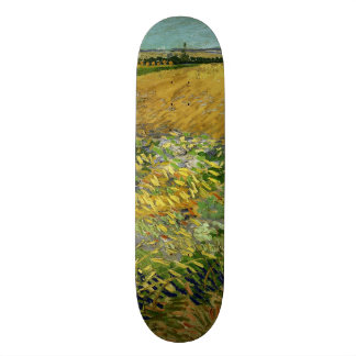 Wheatfield by Vincent Van Gogh Custom Skate Board