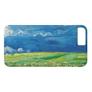 Wheatfield Under Thunderclouds by Vincent van Gogh iPhone 8 Plus/7 Plus Case