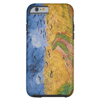 Wheatfield with Crows, 1890 (oil on canvas) Tough iPhone 6 Case