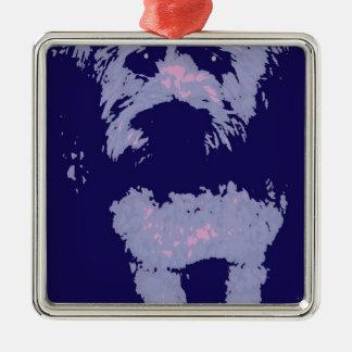 Wheaton Terrier Metal Ornament
