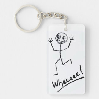 Wheeeee! Key Chain