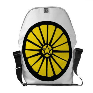Wheel Bag Yellow Messenger Bags