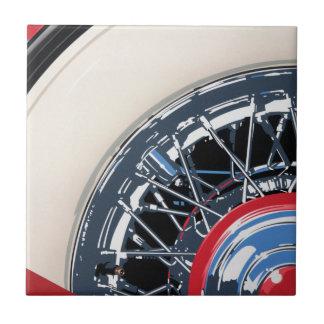 Wheel Ceramic Tile