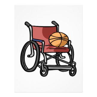 Wheel Chair Basketball 21.5 Cm X 28 Cm Flyer