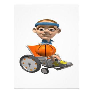 Wheel Chair Basketball Flyer