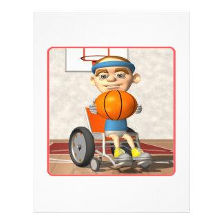 Wheel Chair Basketball Custom Flyer