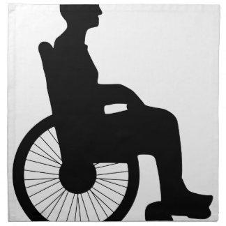 Wheel Chair Napkin