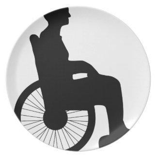 Wheel Chair Plate