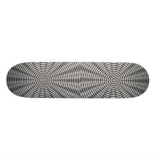 Wheel Motif Custom Skate Board