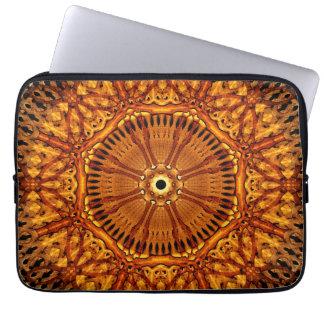 Wheel of Ages Mandala Laptop Computer Sleeve