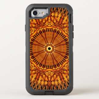 Wheel of Ages Mandala OtterBox Defender iPhone 8/7 Case
