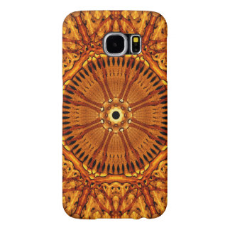 Wheel of Ages Mandala Samsung Galaxy S6 Cases