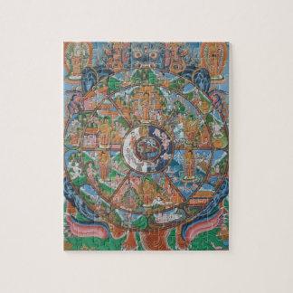 Wheel of Life Mandala Puzzle