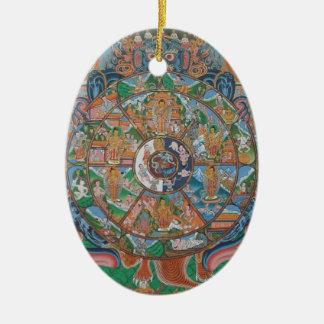 Wheel of Life Ornament