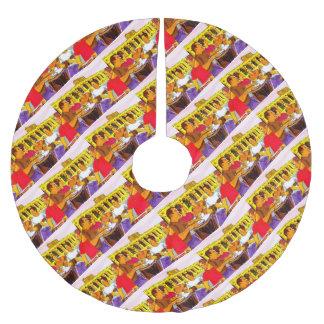 Wheel of SambaFIM - Rio De Janeiro - Brazil Brushed Polyester Tree Skirt