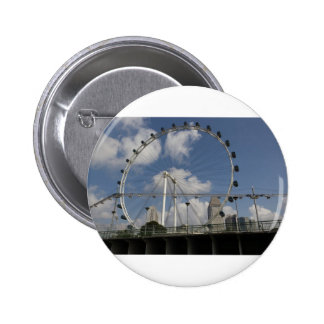 Wheel of the Singapore Flyer Pinback Buttons