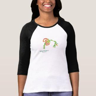 (Wheel Posture I) Women's Bella 3/4 sleeve t-shirt