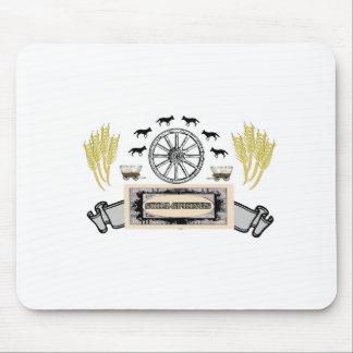 wheel wheat soda springs mouse pad