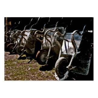 Wheelbarrows for Building or Construction (2) Business Card Template