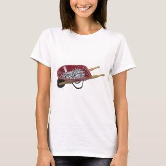 WheelbarrowSilverStones061111 T-Shirt