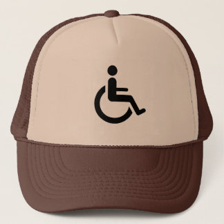 Wheelchair Access - Handicap Chair Symbol Trucker Hat