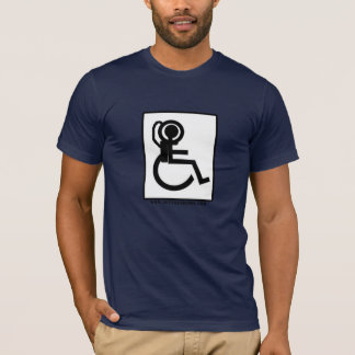Wheelchair Astronaut Training T-Shirt