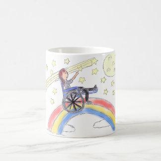 Wheelchair Dreams - Over The Rainbow Coffee Mug