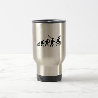 Wheelchair Rugby Travel Mug