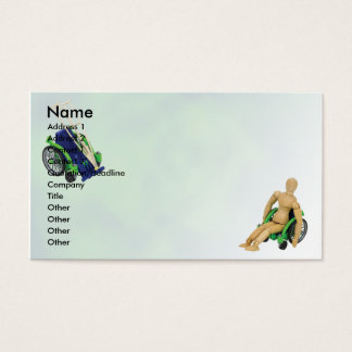 WheelchairCrutches, Name, Address 1, Address 2,... Business Card