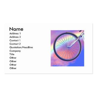 Wheelie - Business Pack Of Standard Business Cards