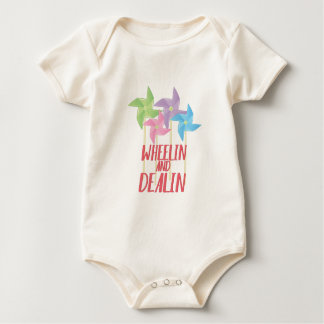Wheelin And Deallin Baby Bodysuit