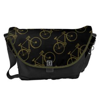 wheeling bike pattern messenger bags
