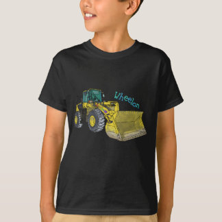 Wheelon construction vehicle wheel loader wheel T-Shirt