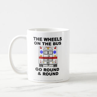 Wheels on the Bus - Ambulance (cup) Coffee Mug