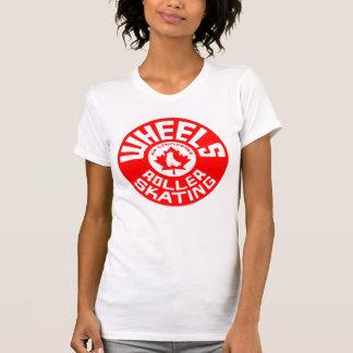Wheels Red/White Print T-Shirt