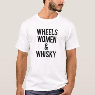 Wheels Women & Whiskey T-Shirt