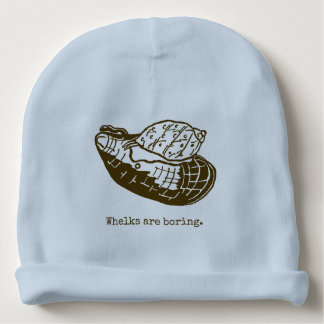 Whelks are boring beanie. baby beanie