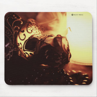 When a night in time ends... Mouse Pad