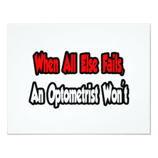 When All Else Fails, An Optometrist Won't Card