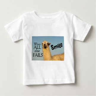 When all else fails Smile Baby T-Shirt