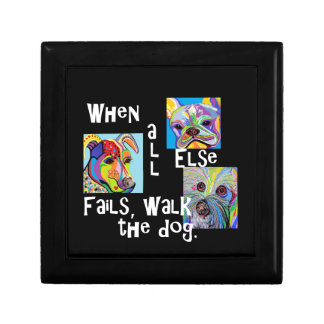 When All Else Fails, Walk the Dog Gift Box