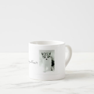 When are we having coffee Kitten Espresso Mug